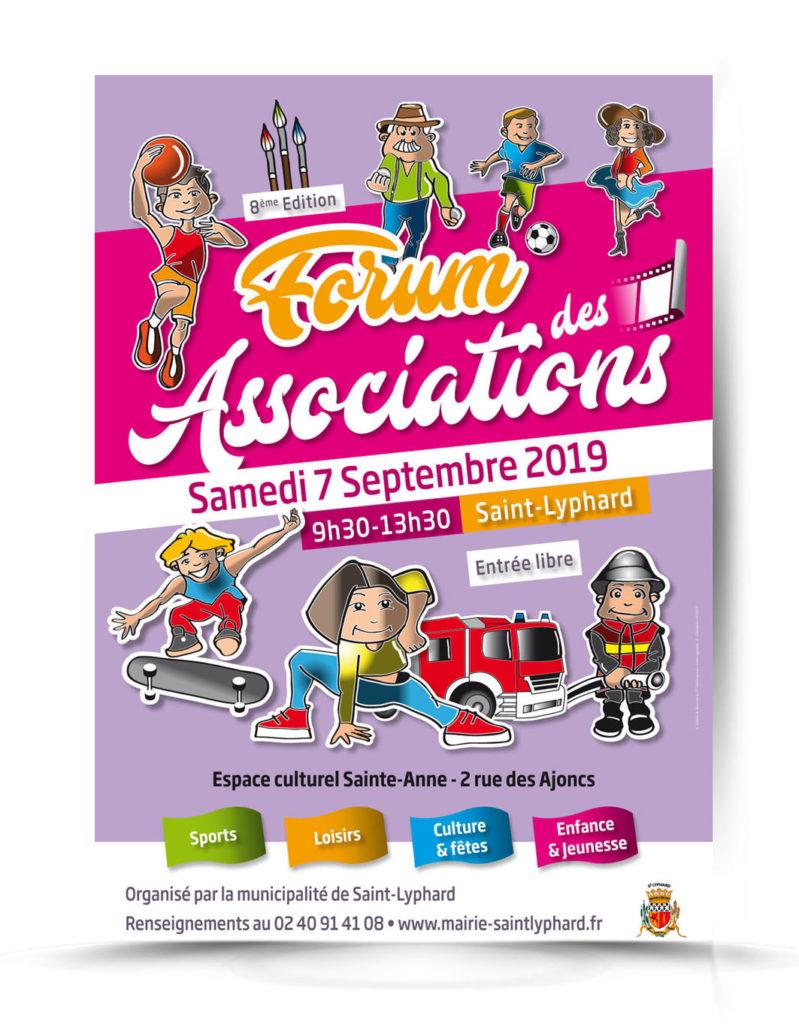Forum association affiche