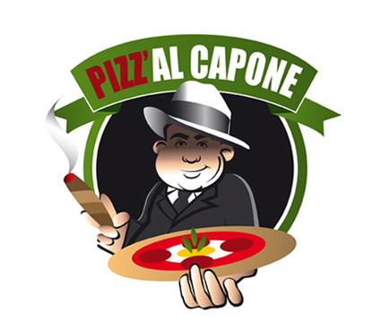 Logo Pizz al capone