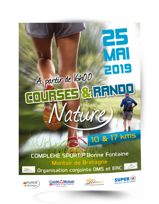 affiche course nature