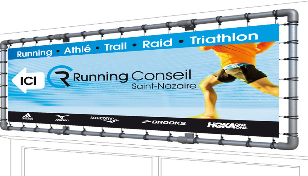 banderole running