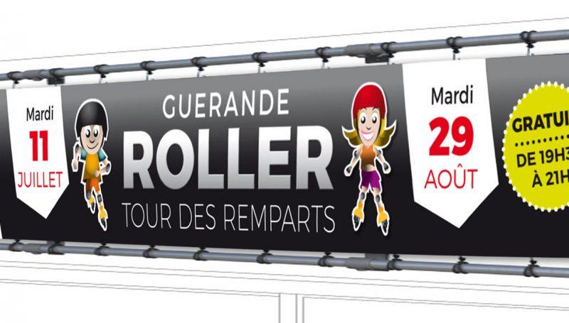 banderole roller